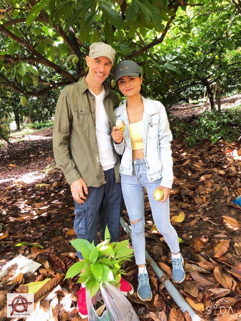 Perry & Katae at Cocoa Farm