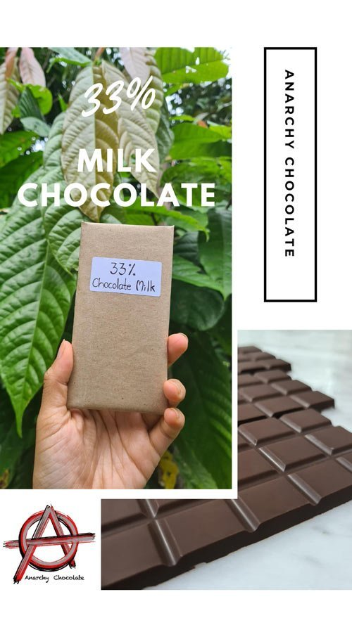 milk anarchy chocolate bar