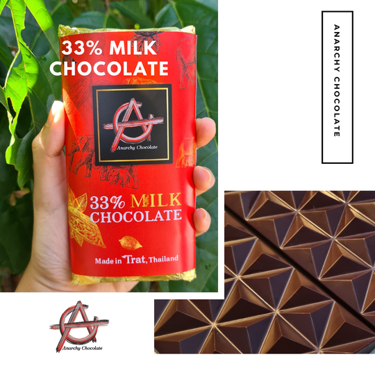 33% Milk Chocolate - Anarchy Chocolate